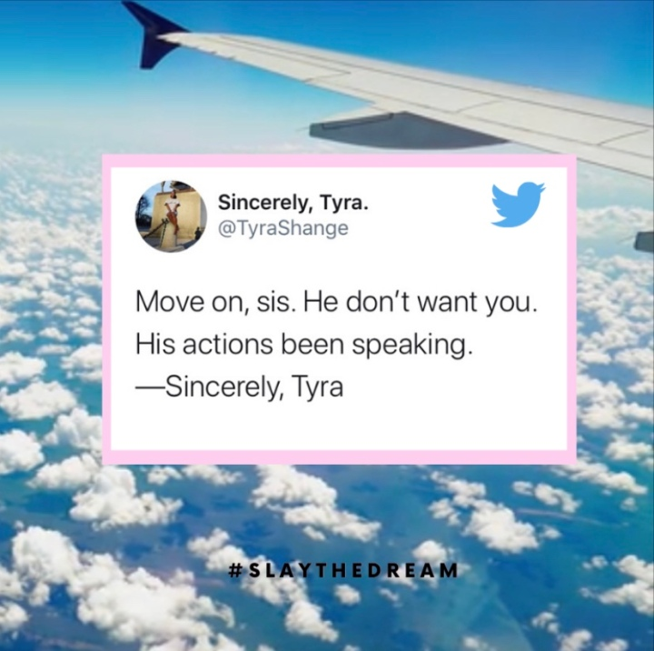 Move on, Sis!
